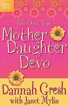 "Looking for a devotional you and your little girl to do together? We have 365 of them! The One Year Mother-Daughter Devo is designed to be used by a mother and her tween daughter. You'll read through the same devotion and then ""girl gab"" about what you learned. Each devotion strengthens the mother-daughter relationships as well as your relationship with God! #dannahgresh #secretkeepergirl"