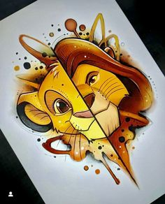Tattoo sketches 594404850802919179 - Tattoo disney lion king fan art Best ideas Source by Art Drawings Sketches, Cartoon Drawings, Cute Drawings, Tattoo Sketches, Amazing Drawings, Drawing Faces, Pencil Drawings, Drawing Cartoon Characters, Drawing Hair