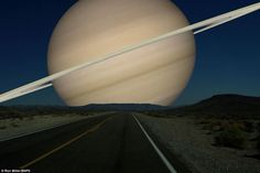 What The Night Sky Would Look Like If The Other Planets Were As Close As The…