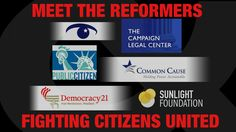 How to Fight Citizens United. Bill Moyers. Ever since the Citizens United ruling opened the floodgates to unlimited political spending (and even before), our friends at Open Secrets, The Campaign Legal Center, Common Cause, The Sunlight Foundation, Democracy 21, Public Citizen and countless other organizations have been working to turn back the tide. Click through to read about six initiatives democracy watchdogs are hoping will help clean up our elections and get money out of politics.