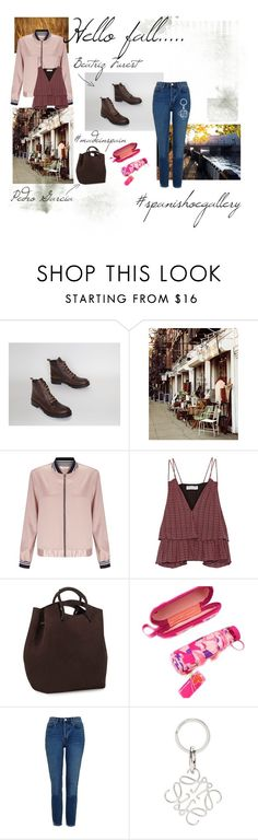 """""""Hello fall..."""" by spanishoegallery ❤ liked on Polyvore featuring Miss Selfridge, Apiece Apart, Topshop and Loewe"""