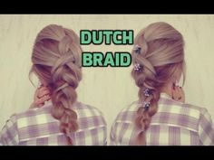 How to DUTCH BRAID for Beginners | Awesome Hairstyles