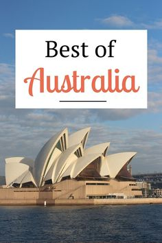 Discover the best of Australia - best beaches, towns, wineries, wildlife, the Outback and much more!