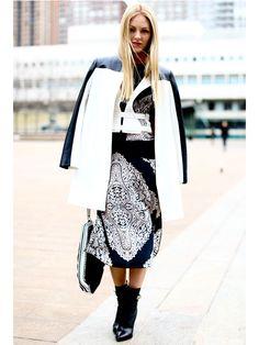 LOULOU Shopping - Partenaires - L'espace chaussures - Totalement noir et blanc! - La faon la plus hot de porter le trs tendance duo noir et blanc? Les chaussures!