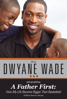 can't wait for Dwyane T Wade's book debut