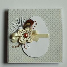 Easter card in natural colors