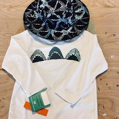 f1ecf9dfdc5 Infant or Youth Hat and Rash Guard Set with Shark print and. Rash guard and bucket  that with Shark prints. Great for the little one in your life that loves ...