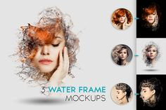 Check out [50% OFF!] Water Frame Mockup by Kahuna Design on Creative Market