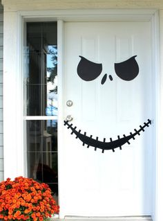 Halloween Front Door Decorations Ideas with Tutorials | Only For Her - Part 8