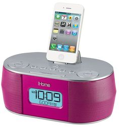 Music player, iPhone charger, and alarm clock. But does it cook pizza?