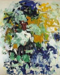 Joan Mitchell  One of my favorite painters.