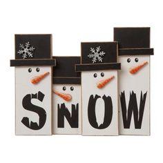 Christmas Store, Christmas Snowman, Christmas Themes, Christmas Diy, Christmas Decorations, Table Decorations, Christmas Ornaments, Diy Snowman, Wood Ornaments
