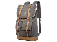 Canvas Travel Laptop School Backpack - Premium Quality