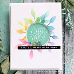 More Lucky to Know You Release Inspiration! Cricut Cards, Stampin Up Cards, Simon Says Stamp Blog, Rainbow Card, Greeting Cards Handmade, Handmade Cards For Friends, Friend Cards, Greeting Card Sentiments, Paper Cards