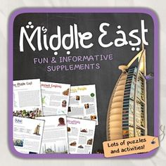 Middle east north africa mena activities choice board print lets get to know the middle eastthis worksheet includes 32 pages with a great sciox Image collections