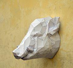 Make Your Own Wild Boar. | Wild Animal | Paper Crafts | Wild Boar | Pig Head | papercraft pig | Farm Boar | Country Boar | Horn and tusk