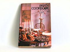Party Cookbook  Retro Vintage Menus Recipes  1971 by FunkyKoala
