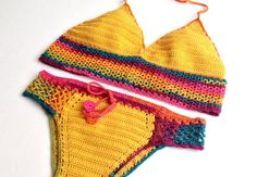 2015 Swimwear Crochet Bikini Trends