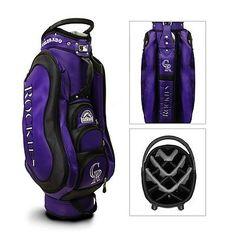 Authentic MLB Team Golf Colorado Rockies Medalist Golf Cart Bag - NEW IN BOX