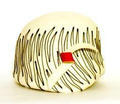 Schiaparelli Paris vintage hat 1955/1959