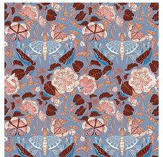 This wallpaper from one of my favorite Finnish textile and pattern designers, Klaus Haapaniemi Wallpaper Decor, Pink Wallpaper, Pattern Wallpaper, Textures Patterns, Print Patterns, High Quality Wallpapers, Weaving Techniques, Minimalist Decor, Surface Design