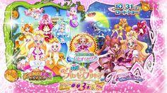 Anunciado mas reparto de la película Eiga Go! Princess Precure Go! Go!! Gouka 3-bon Date!!!.