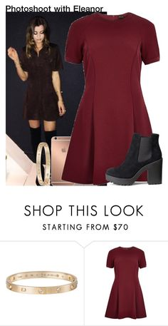 """""""Photoshoot with Eleanor"""" by diirectiioner69 ❤ liked on Polyvore featuring moda, Cartier, Mura, River Island y H&M"""