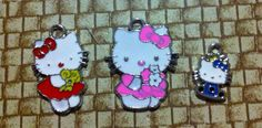 Hello Kitty charm X3 by Mommoos on Etsy, $3.00