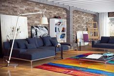 Hochwertig 28 Gemütliche Wohnzimmer Wohnideen Mit Deko In Kräftigen Farben
