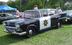 Out of Bristol, Road Island came a 1959 Ramble 6 Custom Police Car ...