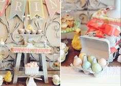 Pastel treats. Bookmark for Easter!