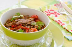 Carne ripiada (shredded beef)