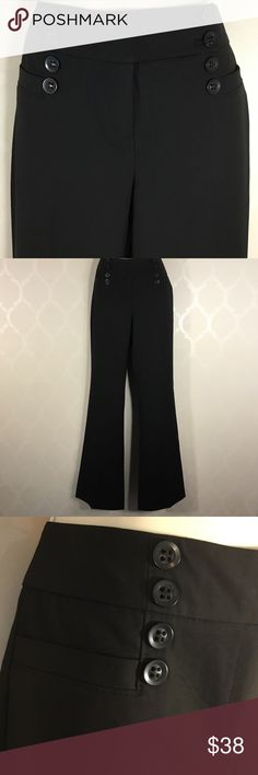 """🆕THE LIMITED BLACK PANTS The Limited Black Pants ➖ Drew Fit ➖ High Waist ➖ Features Front Buttons ➖ 33"""" Inseam The Limited Pants"""