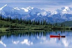 Kenai is a 669,983-acre rampart of rock, crevasses, and impenetrable ice on the Gulf of Alaska shore, but don't be intimidated—that's why you're going. The park is a two-and-a-half-hour drive south of Anchorage and just ten miles from the harbor town of Seward. One of the best hikes is at Exit Glacier: a steep four miles alongside the edge of the icy slope, the trail yields impressive views onto the large Harding Icefield.