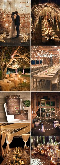 spring flower mason jar string lights rustic invitations EWI416 #WeddingIdeasBoda