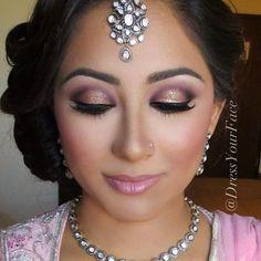 Dark Purple Bridal Makeup : Purple Wedding Makeup on Pinterest Asian Bridal Makeup ...