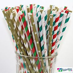 150 Christmas Holiday Paper Straw Combo, 6 Designs - 100%... https://www.amazon.com/dp/B013NL2BEA/ref=cm_sw_r_pi_dp_x_2CiqybBFRRTD7