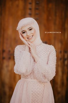 Muslimah Wedding Dress, Muslim Wedding Dresses, Hijab Bride, Wedding Hijab, Dress Wedding, Hijab Evening Dress, Hijab Dress Party, Evening Dresses, Prom Dresses