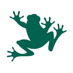 Tree frog vinyl decal sticker for Car/Truck Window laptop bottle cute funny deco