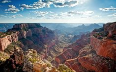 Grand Canyon National Park's North Rim.  Photo: Getty Images
