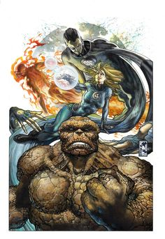 Fantastic Four cover by simonebianchi on deviantART