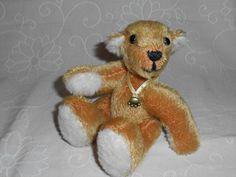 """teddymarkt.de - Künstler-Bären > Bären von 8 bis 17 cm - """" Anton """" von den Rodebärchen"""
