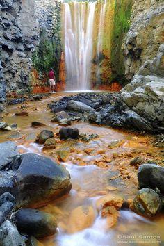 Saul Santos Diaz - Cascada de Colores, Parque Nacional de La Caldera de Taburiente,Isla de La Palma, Canary Islands
