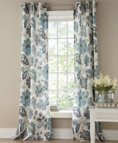 Charmant Tessa Grommet Top Panels From Through The Country Door® Turquoise