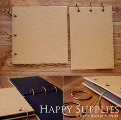 Cuaderno de papel de Kraft / álbum de por HappyJewelrySupplies