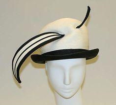 Hat Yves Saint Laurent, 1965-1967 The Metropolitan Museum of Art
