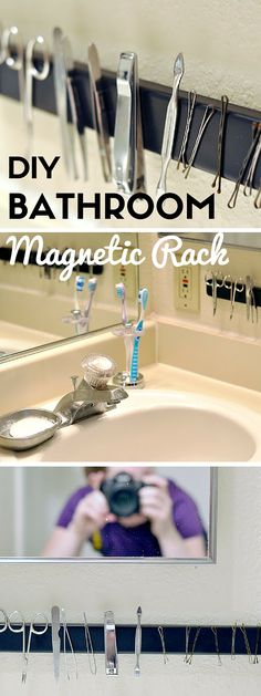 Check out the tutorial: #DIY Magnetic Rack #crafts