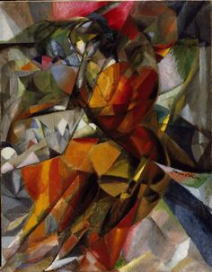 Young Girl Jacques Villon (Gaston Duchamp), French, 1875 - 1963 Date:1912 Medium:Oil on c...