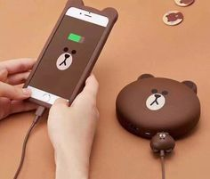 Cute cartoon Little bear portable charger power supply 8800 mA universal travel for iPhone xiaomi mobile phone powerbank