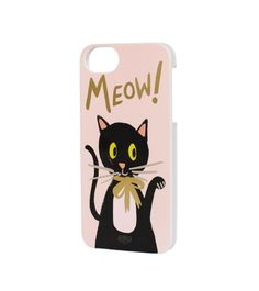 Meow iPhone 5 Slim Hard Case (Wafer)